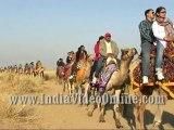 Camel safari at sam sand dunes01, Jaisalmer