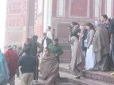 21 - Impresionante visita al Taj Mahal al amanecer y con niebla - Viaje a India de mochileros