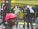 UK riots: Robbery and looting caught on video