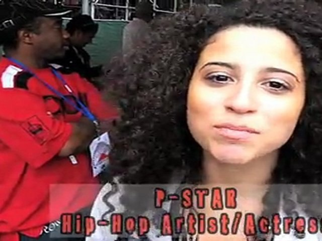 Rap Artist, Actress P-Star Blunt Squad TV Drop
