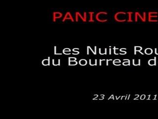 Panic Cinéma - LES NUITS ROUGES DU BOURREAU DE JADE - Présentation par Julien Carbon & Laurent Courtiaud, Seppuku Paradigm et Carole Brana