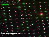 Laser effet grating ciel etoilé  rouge et vert mini-sky epsilone laser