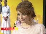 """THE HELP"" Premiere Arrivals Emma Stone, Bryce Dallas Howard, Teresa Palmer"