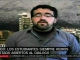 Estudiantes chilenos piden plebiscito para reforma educativa