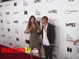 """Evan Ross and Cora Skinner at """"World's Most Beautiful"""" 3D Magazine Launch"""