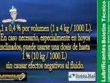 Aditivo lubricante de coronas y astas en explotaciones mineras - Lodos de perforacion Systemmud