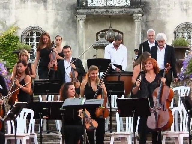 Jean-Sébastien Hubert et l'Orchestre de Chambre de St Raphaël