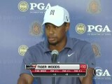 Tiger Woods Discusses His Early Exit
