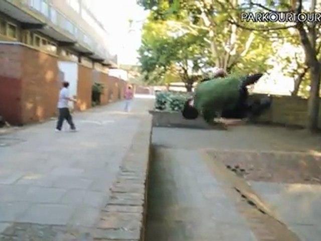 London Action - Daniel Ilabaca Parkour Tour