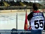 Caen perd en amical contre Amiens (Hockey sur glace)