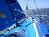 14 août 2011 - Top départ de la Rolex Fastnet Race à bord de Virbac-Paprec 3