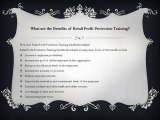 What is Retail Profit Protection Training 4