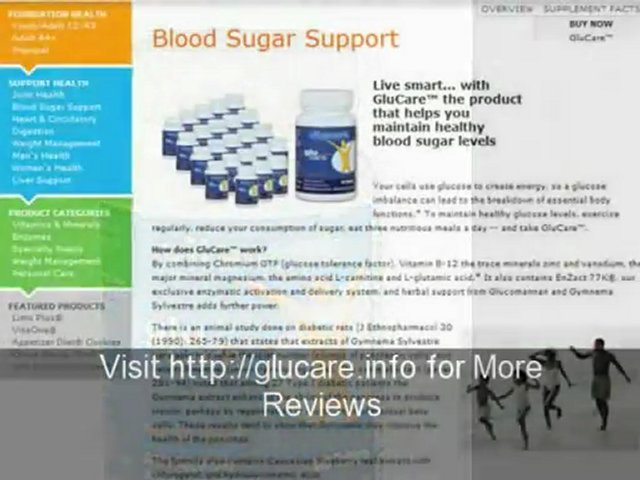 Healthy glucose levels needs healthy eating & GluCare