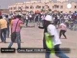 Affrontements au Caire en marge du procès... - no comment
