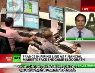 """Max Keiser sur la crise en France  : """"une 3e guerre mondiale financière"""""""