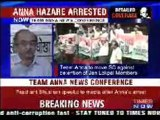 Press Conference on Unconstitutional Arrest of Anna Hazare