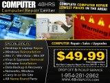 PC FIX 49.99 - 1-954-281-2862 MIRAMAR 24st.