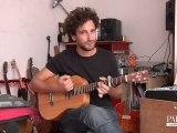 Jon Malkin chante Sub man / Session acoustique pour Pousse le son!