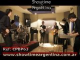 REF: CPBP63 COVER PARTY BAND ROCK POP COUNTRY FUNK DISCO LATIN www.showtimeargentina.com.ar
