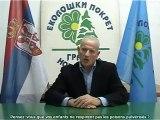 (STFR) Le représentant du mouvement écologique Serbe demande l'arrêt des épandages !