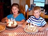 anniversaire a cassandra 9 ans et steven 8 ans ..