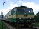 Lokomotiva 163 090-4 - Ústí nad Labem, železniční most, 17.8.2011 HD