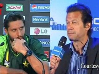 Imran Khan BLAMES the PCB for Shahid Afridi's Retirement