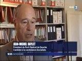 France 3 Auvergne : Jean-Michel Baylet au festival d'Aurillac