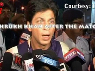 Shahrukh Khan's MIXED REACTIONS Before and After KKR's match