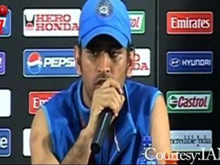 MS Dhoni THANKS NATION for winning Cricket World Cup 2011