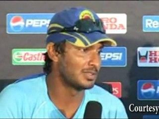 Kumar Sangakkara PREDICTED WINNER in Semi Final for Sri Lanka vs New Zealand