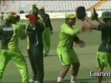 Umar Akmal's BOXING PRACTICE  for India vs Pakistan Match