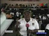 Les femmes et jeunes filles d'Ewo édifiées par la ministre de la promotion de la femme