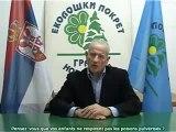 Le Mouvement écologiste serbe réclame l'arrêt des chemtrails en Serbie