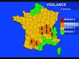 Météo 22 août 2011: Alerte canicule et prévisions à 7 jours