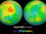 Trou de la couche d'ozone en Arctique 2010-2011