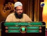 Alif Laam Meem Geo Tv Episode 29 - 23rd August 2011 Part 3/3