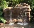 Yapay kaya şelale havuz 05