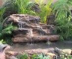Yapay kaya şelale havuz 12