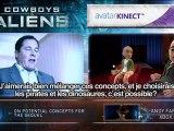 Cowboys& Envahisseurs - XBOX KINECT interview Jon Favreau