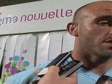 Les réactions d'après match USAP/CASTRES-Août 2011
