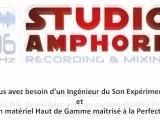 Studio d'enregistrement Lyon - Studio Amphore Lyon