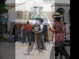 animation de rue , Pari Paname, duo musical, accordéon numérique,animations guinguette,spectacle de rue,spectacle musical,