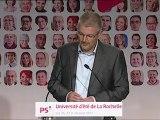 Discours de clôture d'Olivier Falorni - La Rochelle 2011