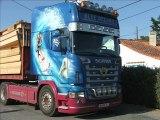 14 Juin 2011 : arrivée du premier camion sur le chantier