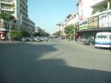 VOYAGE CAMBODGE : Video dans Pnhon Pehn en bus - Août 2011