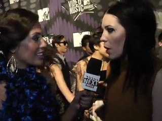 On the VMA Carpet: Skylar Grey Discusses How Movies Inspire Her Music