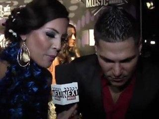 "On the VMA Carpet: Ronnie: ""The Rock"""