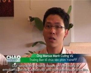 YxineFF 2010 trên Chào Việt Nam - VTV4