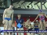 Laure Manaudou de retour dans l'équipe de France de natation